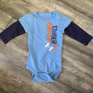 Under Armour 3-6M long sleeve onesie